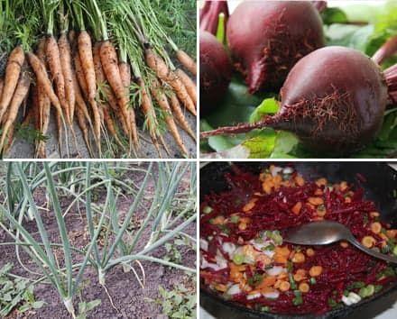 Все овощи домашние...