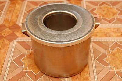 Специальная крышка для кастрюли - купил на рынке