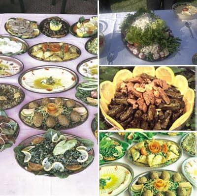 Сирийские закуски