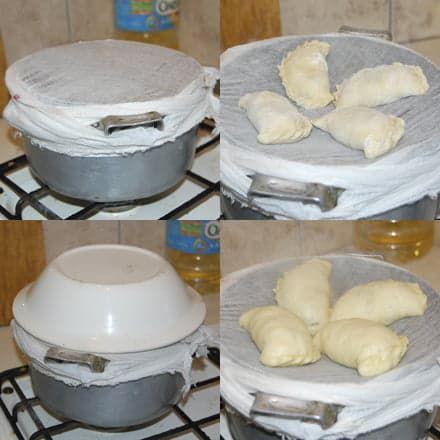 Приготовление вареников на пару