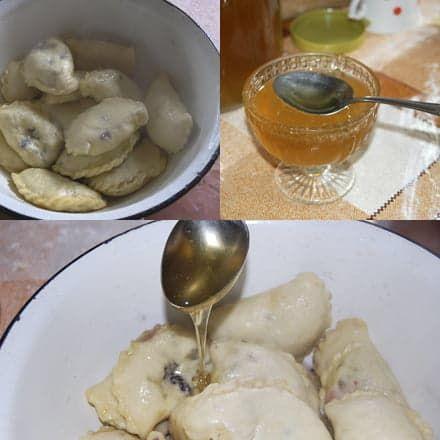 Со свежим медом - самый смак!