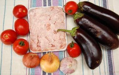 Овощи и фарш