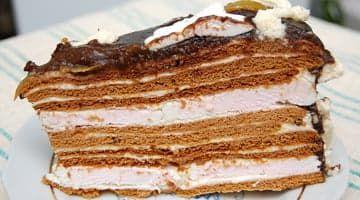 Кусочек домашнего торта...