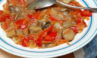 Салат грибной на зиму