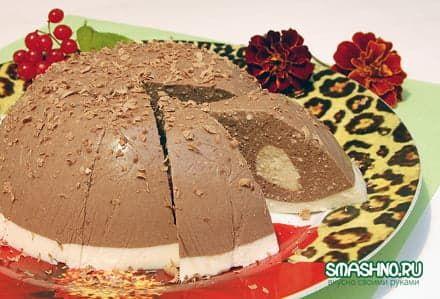 Творожный десерт - красиво и вкусно