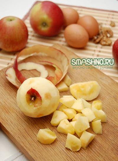 Яблоки для пудинга