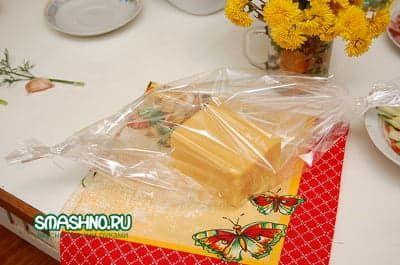 Сыр в рукаве для запекания