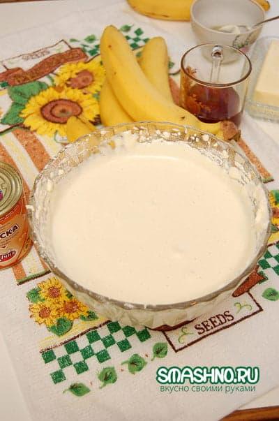 Тесто для бисквитного рулета