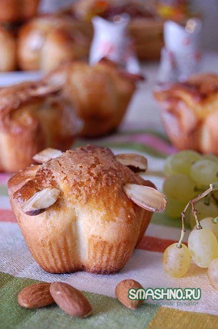 Готовые булочки с лимонной начинкой