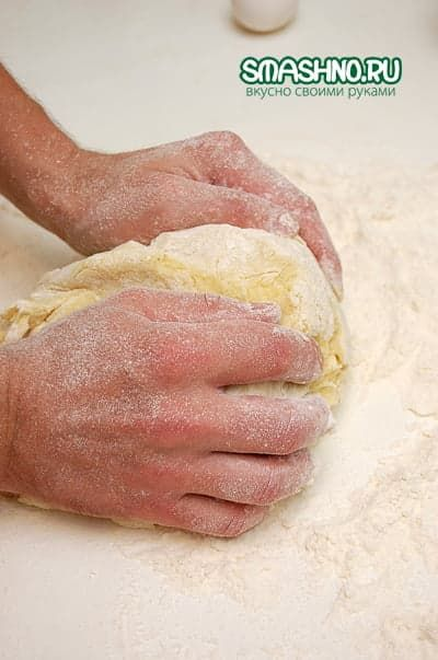 Приготовление картофельного теста