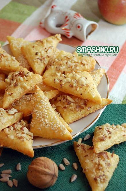 Печенье с сыром - и просто так вкусно, и закуска отличная