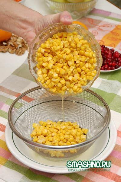 Консервированная кукуруза