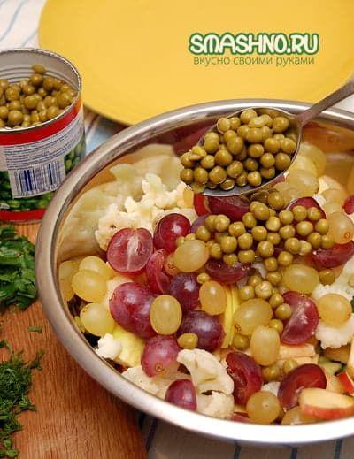 Необычный салат рецепт