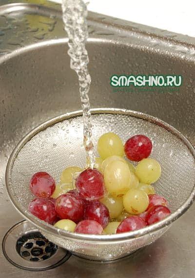 Крупные виноградины