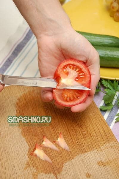 Салат с цветной капустой.