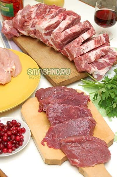 Мясная закуска фото