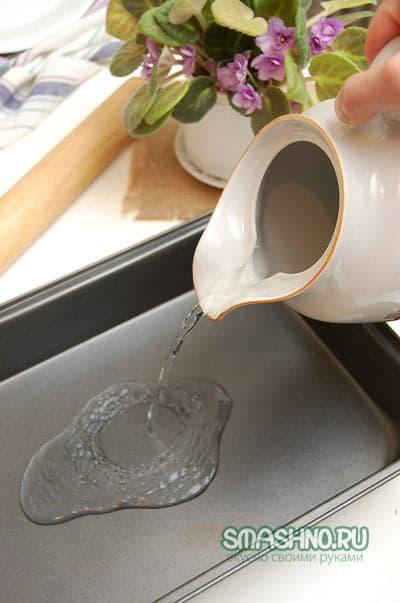 Вода для духовки