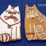 Медовые пряники-коты