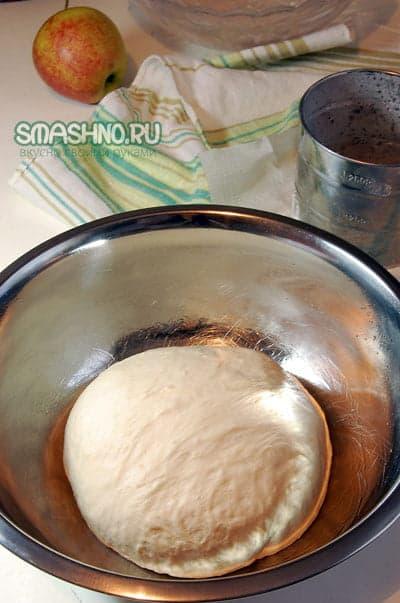Тесто для багетов до подхода