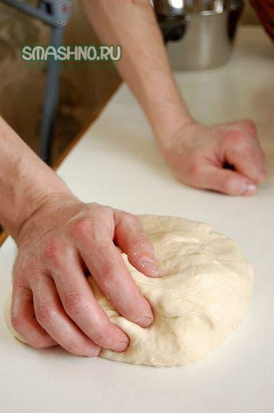 Тесто для багетов