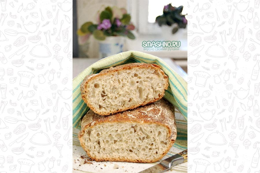 Хлеб в духовке, фото