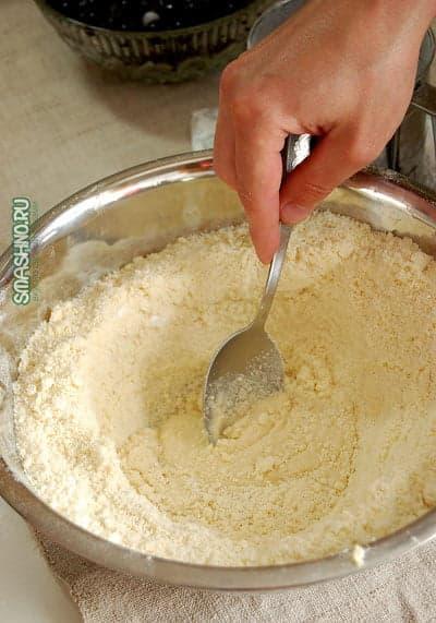 Приготовление песочного теста