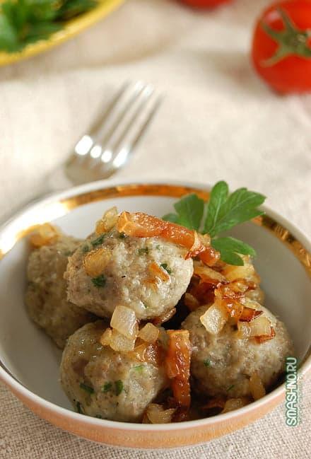 Картофельные фрикадельки, фото