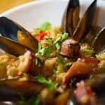 Рецепт паэльи с морепродуктами