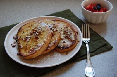 Французские тосты на завтрак