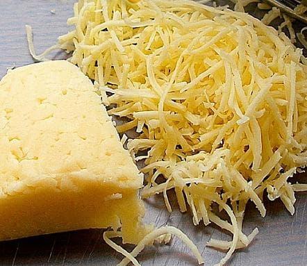 натёртый на мелкой тёрке сыр