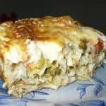 Овощной пирог в лаваше