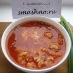 Суп с макаронами: «Всё гениальное – просто!»