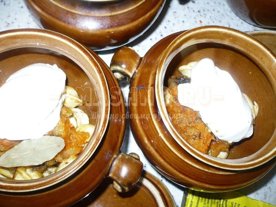 Пельмени запеченные в духовке с сыром и сметаной рецепт пошаговый
