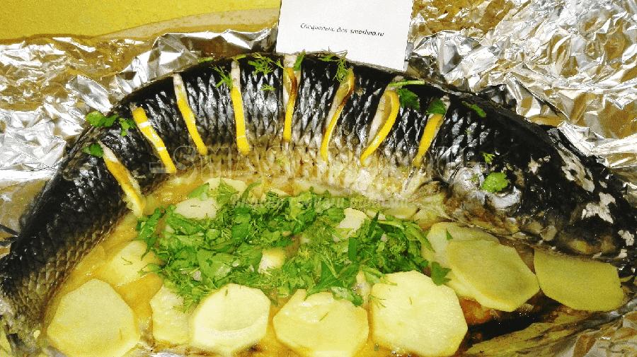 пеленгас в духовке в фольге рецепты с фото