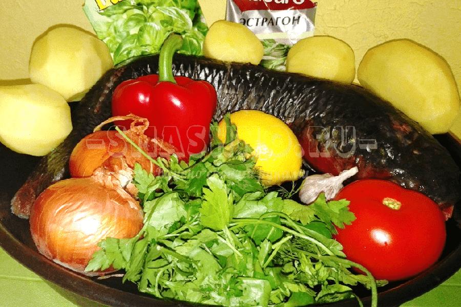 пеленгас целиком в фольге в духовке рецепт с фото