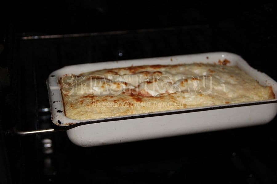 Рецепт творожной запеканки в духовке с фото пошагово с мукой