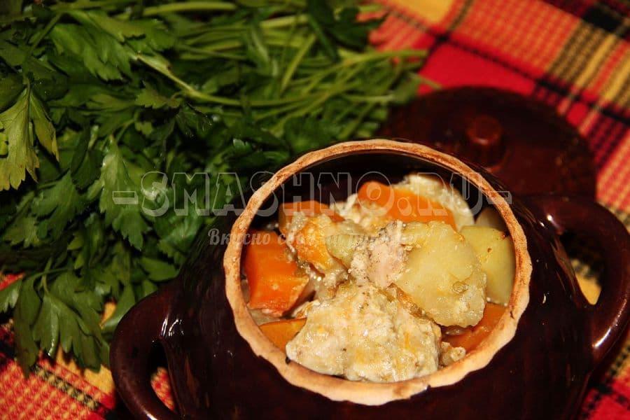 Как приготовить шарлотку с капустой в духовке