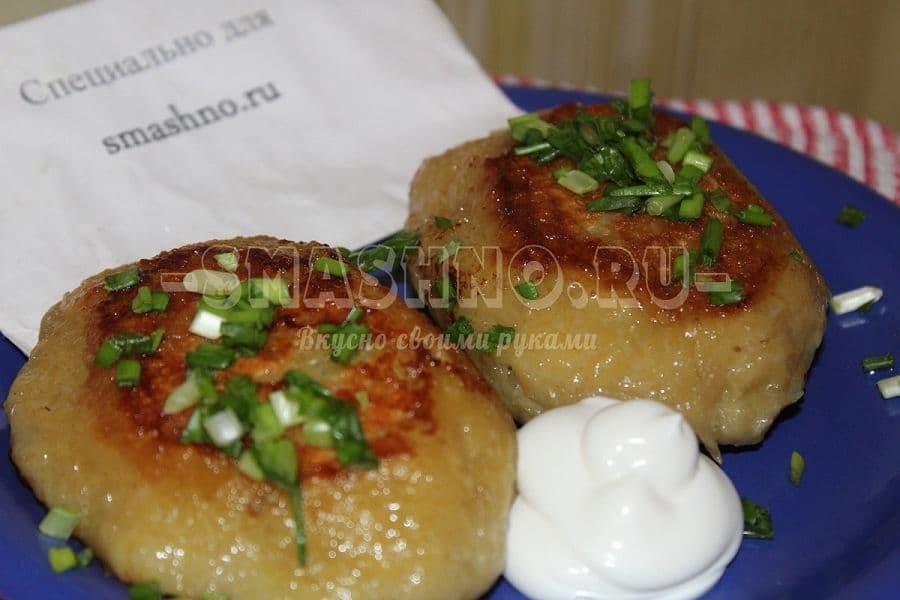 Котлеты в духовке с картофелем рецепт пошагово