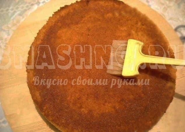 Как сделать крем для торта из бисквитных коржей