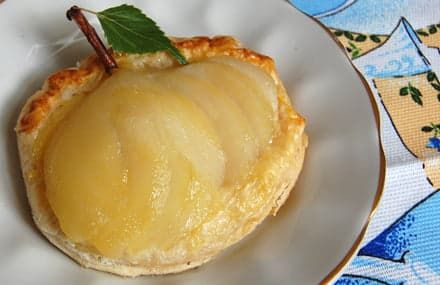 Рецепт десерта с грушей