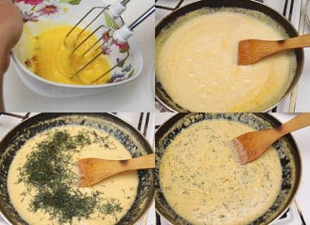 Сырная масса для гренок