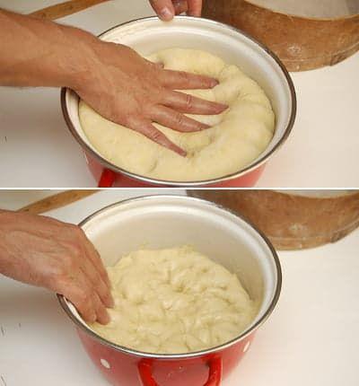 Обминаю масляными руками