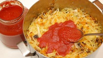 Добавил домашнего томатного соуса
