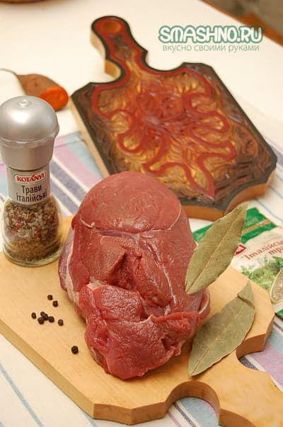 Продукты для приготовления буженины