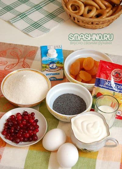Продукты для желейного десерта