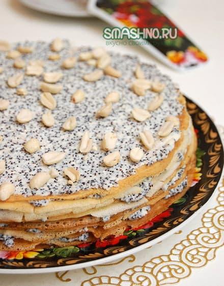 Блинчатый торт