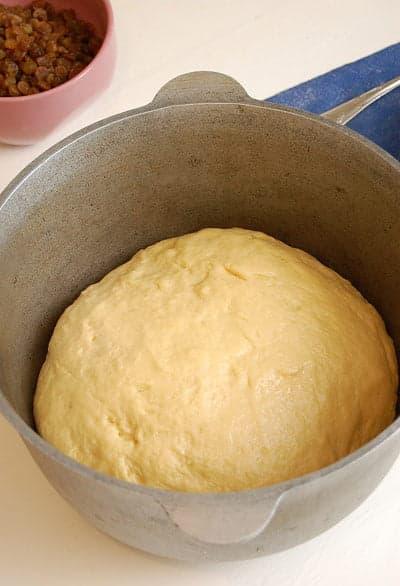 Готовое тесто для куличей
