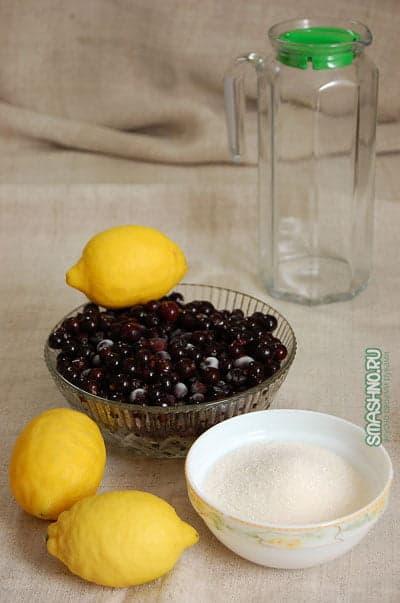 Продукты для лимонада из смородины
