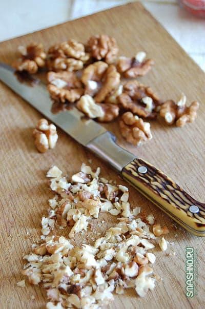 Рубленые орехи