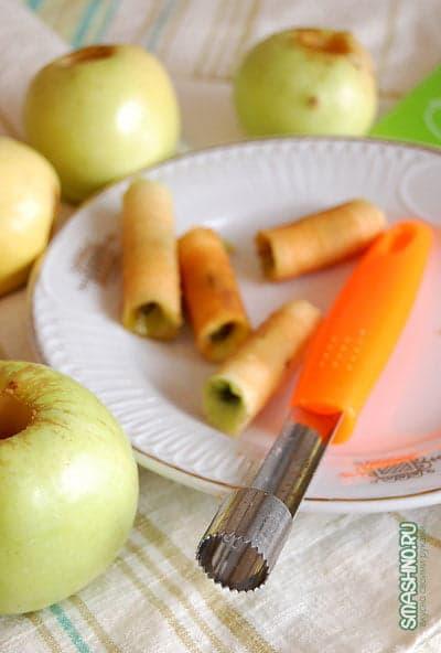 Нож для удаления сердцевины яблок